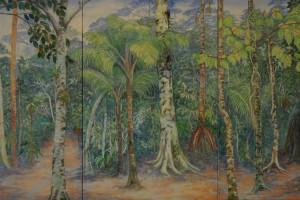 De pronto - Oleo sobre tela - 110 x 225 cm