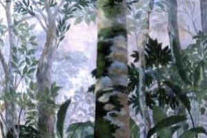 Palma de Vino : Oleo sobre tela : 150 x 90 cms