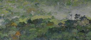 Selva - Oleo Sobre Tela