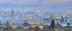 Viento fresco : Oleo sobre tela : 35 x 180 cms